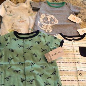 NWT 0-3 M Baby boy bundle. Gymboree/Carters